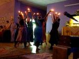 2012 11 11 Говардхан-пуджа с BVS (танец огней) - в Томске